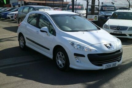 2010 Peugeot 308 XS White 4 Speed Automatic Hatchback Brooklyn Brimbank Area Preview