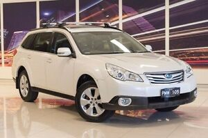 2010 Subaru Outback B5A MY10 2.5i Lineartronic AWD Premium White 6 Speed Constant Variable Wagon Blacktown Blacktown Area Preview