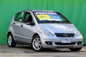 2007 Mercedes-Benz A170 W169 MY07 Classic Silver 7 Speed Constant Variable Hatchback Ringwood East Maroondah Area Preview