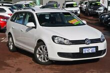 2010 Volkswagen Golf VI MY10 118TSI DSG Comfortline White 7 Speed Sports Automatic Dual Clutch Wagon Cannington Canning Area Preview