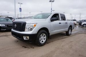 2017 Nissan Titan 4X4 S CREW CAB Bluetooth, Touch Screen Display