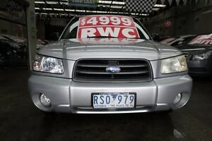 2002 Subaru Forester MY03 XS Luxury 5 Speed Manual Wagon Mordialloc Kingston Area Preview