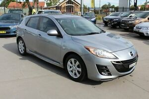 2010 Mazda 3 BL10C1 MY10 MZR-CD Grey 6 Speed Manual Hatchback Telarah Maitland Area Preview