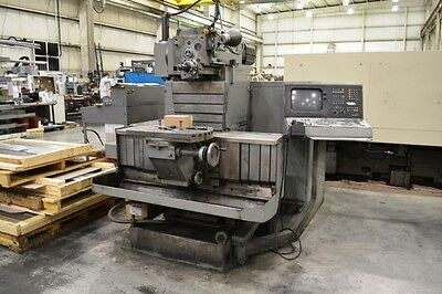 1988 Tos Fng 40 Cnc Tool Room Universal Milling Machine Vertical Horizontal