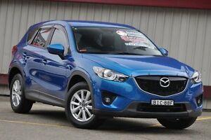 2013 Mazda CX-5 MAXX SPORT (4x4) Maxx Sport (4x4) Blue 6 Speed Automatic Wagon Homebush Strathfield Area Preview