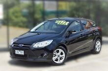 2013 Ford Focus LW MKII Trend PwrShift Black 6 Speed Sports Automatic Dual Clutch Hatchback Berwick Casey Area Preview