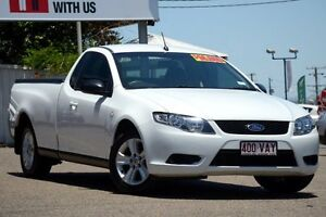 2008 Ford Falcon FG Ute Super Cab Winter White 5 Speed Automatic Utility Moorooka Brisbane South West Preview
