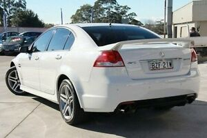 2011 Holden Commodore VE II SV6 White 6 Speed Manual Sedan Pennant Hills Hornsby Area Preview