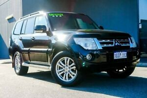 2013 Mitsubishi Pajero NW MY13 VR-X Black 5 Speed Sports Automatic Wagon Osborne Park Stirling Area Preview
