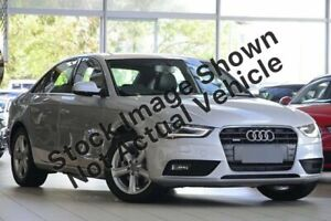 2014 Audi A4 B8 (8K) MY14 1.8 TFSI Silver CVT Multitronic Sedan Bowen Hills Brisbane North East Preview