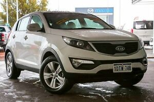 2011 Kia Sportage SL MY12 SI White 6 Speed Sports Automatic Wagon East Rockingham Rockingham Area Preview