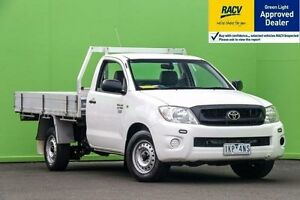 2009 Toyota Hilux White Automatic Utility Ringwood East Maroondah Area Preview