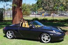1999 Porsche Boxster 986 Black 5 Speed Sports Automatic Convertible Leederville Vincent Area Preview