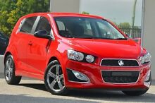 2014 Holden Barina TM MY14 RS Red 6 Speed Manual Hatchback Morley Bayswater Area Preview