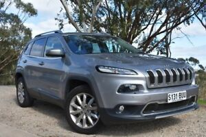 2015 Jeep Cherokee KL MY16 Limited Silver 9 Speed Sports Automatic Wagon St Marys Mitcham Area Preview