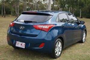 2013 Hyundai i30 GD2 MY14 Trophy Dazzling Blue 6 Speed Sports Automatic Hatchback Bundaberg West Bundaberg City Preview