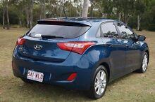 2013 Hyundai i30 GD2 MY14 Trophy Dazzling Blue 6 Speed Sports Automatic Hatchback Bundaberg West Bundaberg City Preview