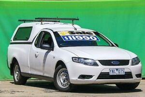 2011 Ford Falcon FG Ute Super Cab White 6 Speed Automatic Utility Ringwood East Maroondah Area Preview