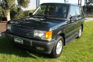 1997 Land Rover Range Rover HSE Green 4 Speed Automatic Wagon Melbourne CBD Melbourne City Preview