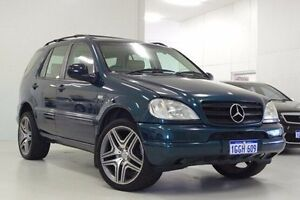 1999 Mercedes-Benz ML430 W163 MY2000 Luxury Green 5 Speed Sports Automatic Wagon Myaree Melville Area Preview