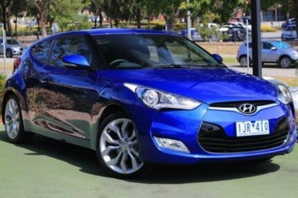 2012 Hyundai Veloster FS2 Coupe Blue 6 Speed Manual Hatchback Berwick Casey Area Preview