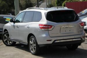 2014 Nissan Pathfinder R52 MY14 Ti X-tronic 4WD Silver 1 Speed Constant Variable Wagon Hybrid