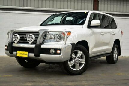 2015 Toyota Landcruiser VDJ200R MY13 VX White 6 Speed Sports Automatic Wagon
