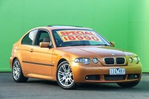 2002 BMW 318TI E46/5 Amber Sports Automatic Hatchback Ringwood East Maroondah Area Preview