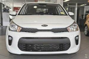 2019 Kia Rio YB MY19 S White 4 Speed Sports Automatic Hatchback Ocean Vista Burnie Area Preview