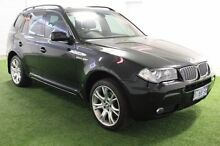 2008 BMW X3 E83 MY07 si Steptronic Black 6 Speed Sports Automatic Wagon Moonah Glenorchy Area Preview