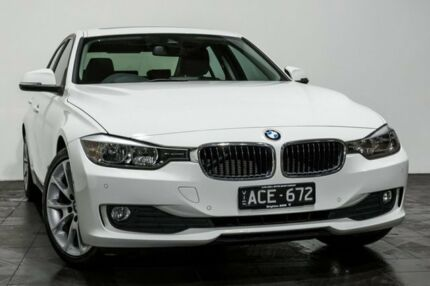 2014 BMW 320D F30 MY0813 White 8 Speed Sports Automatic Sedan