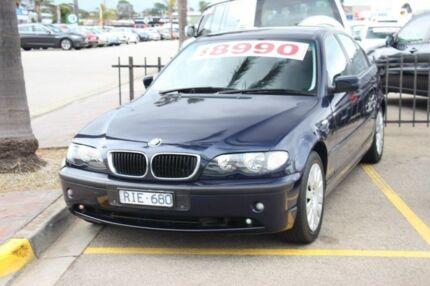 2002 BMW 318I E46 MY2002 Steptronic Aero Blue 5 Speed Sports Automatic Sedan Heatherton Kingston Area Preview