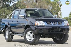 2013 Nissan Navara D22 S5 ST-R Black 5 Speed Manual Utility Invermay Launceston Area Preview