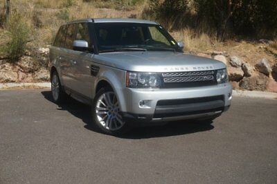 2013 Range Rover Sport SC 2013 Land Rover Range Rover Sport SC 64532 Miles Silver Sport Utility Supercharg