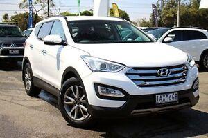 2014 Hyundai Santa Fe DM MY14 Elite White 6 Speed Sports Automatic Wagon Frankston Frankston Area Preview