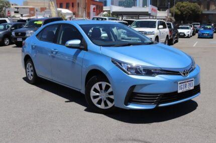 2017 Toyota Corolla ZRE172R MY17 Ascent Blue Mist 7 Speed CVT Auto Sequential Sedan Northbridge Perth City Area Preview