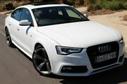 2014 Audi A5 8T MY14 Sportback S tronic quattro White 7 Speed Sports Automatic Dual Clutch Hatchback Thebarton West Torrens Area Preview