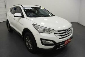 2014 Hyundai Santa Fe DM Active CRDi (4x4) White 6 Speed Automatic Wagon Moorabbin Kingston Area Preview