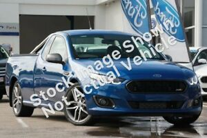 2014 Ford Falcon FG X XR6 Ute Super Cab Blue 6 Speed Manual Utility Lilydale Yarra Ranges Preview