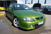 2002 Holden Ute VY SS Green 6 Speed Manual Utility Dandenong Greater Dandenong Preview