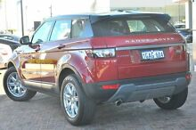 2015 Land Rover Range Rover Evoque L538 MY15 Red 9 Speed Sports Automatic Wagon Osborne Park Stirling Area Preview