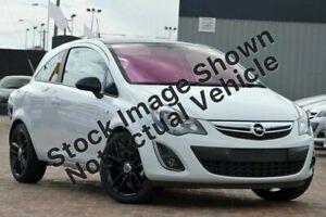 2012 Opel Corsa CO Colour Edition White Automatic Hatchback Minchinbury Blacktown Area Preview