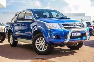 2014 Toyota Hilux KUN26R MY14 SR5 Double Cab Blue 5 Speed Automatic Utility Westminster Stirling Area Preview