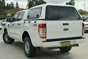 2014 Ford Ranger PX XL Double Cab White 6 Speed Sports Automatic Utility Thornleigh Hornsby Area Preview