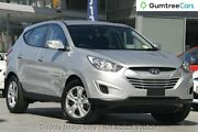 2012 Hyundai ix35 LM MY12 Active Silver 5 Speed Manual Wagon Moonah Glenorchy Area Preview