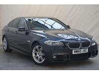 2011 BMW 5 Series 2.0 520D M SPORT 4d 181 BHP Diesel grey Manual