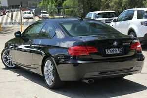 2012 BMW 320D E92 MY12 Black 6 Speed Steptronic Coupe Petersham Marrickville Area Preview