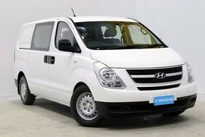 2015 Hyundai iLOAD TQ2-V MY15 Crew Cab White 5 Speed Automatic Van Seven Hills Blacktown Area Preview