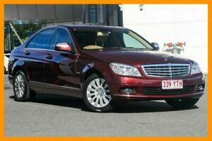 2007 Mercedes-Benz C200 Kompressor W203 MY2007 Elegance Red 5 Speed Sports Automatic Sedan Mount Gravatt Brisbane South East Preview
