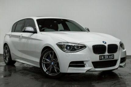 2013 BMW M135i F20 Steptronic White 8 Speed Sports Automatic Hatchback